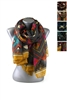 DZ Pack Assorted Color Multi Tone Geometric Print Fashion Scarves