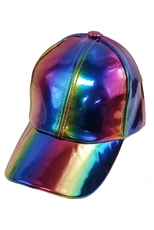 Rainbow Hologram Cap