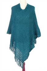 DZ Pack Assorted Color Mesh Poncho