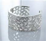 Rhinestone Design Pattern Bangle