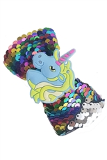 A Dozen Assorted Color Mermaid Sequin Unicorn Hair Bow