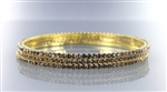 3pc Rhinestone Thin Bangle