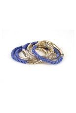 5pcs Set Stretch Chain Bangle