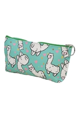 Dozen Assorted Color Llama Print Coin Purse