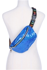 Dozen Assorted Color LOVE Strap Fanny Pack
