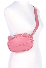A Half Dozen Assorted Color Kitty Fanny Pack