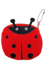 A Dozen Assorted Color Ladybug Coin Purse
