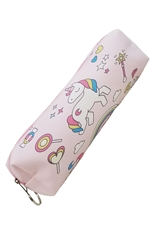 Dozen Assorted Color Unicorn Pencil Case