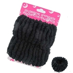 Dozen(2pcs each card) Black Ponytail