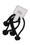 Dozen(2pcs each card) Black Ponytail Holder