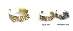 Dozen Spike Cuff Bangle