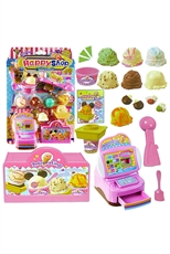 Happy Shop Ice Cream Play Toy Set