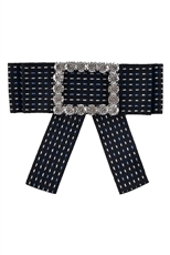 Bow Collar Fashion Brooch Pin