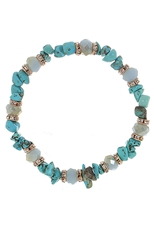 Dozen Assorted Color Bohemian Stretch Bracelet