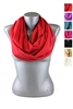 DZ Pack Assorted Color Infinity Scarves