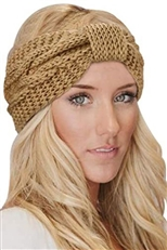 A Dozen Assorted Color Knitted Fashion Headwrap