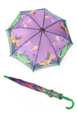A Dozen Assorted Color Children Dinosaur Anti-UV Windproof Umbrella
