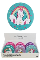 A Dozen Assorted Color Unicorn Compact Mirror