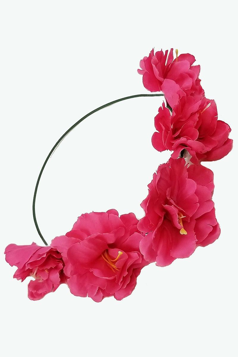 Dozen assorted color flower crown headwrap izmirmasajfo