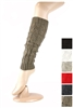 DZ Pack Assorted Color Knited Leg Warmers with Buttons