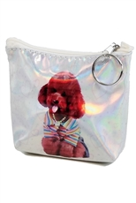 A Dozen Assorted Color Animal Holographic Coin Purse