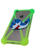 Dozen Assorted Color Animal Elastic Silicone Phone Case