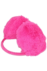 A Dozen Assorted Color Faux Fur Earmuffs