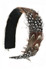 Fashion Multi Feather Headband