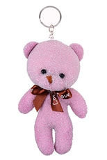 A Dozen Assorted Color Little Bear Key Chain
