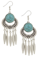 A Dozen Assorted Color Bohemian Dangle Earring