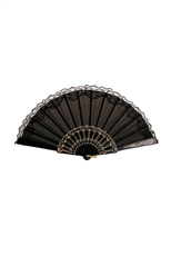 Dozen Black and White Fan