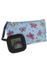 A Dozen Assorted Color Butterfly Cosmetic Bag