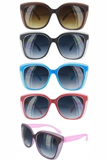 Dozen Assorted Color Fashion Sunglasses