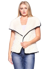 Soft Fur Reversible Vest