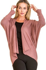 A Half Dozen Assorted Color Long Sleeve Fashion Cardigan