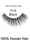 DZ Pack of 100% Human Hair Eyelashes