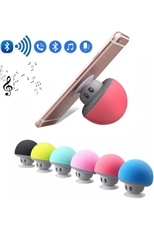 A Half Dozen Assorted Color Mushroom Wireless Mini Bluetooth Speaker