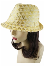 Fashion Sequin Fedora Hat
