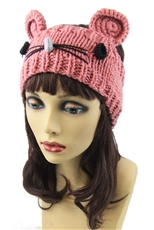 Dozen Assorted Color Cat Crochet Headwrap