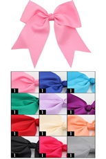 Dozen Assorted Color Bow Hair Clip