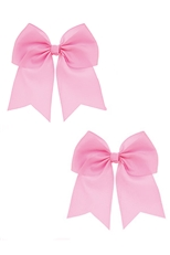 A Dozen Assorted Color 2-pc Bow Hair Clip Set