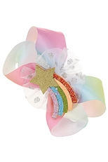 A Dozen Assorted Color Alligator Clip Fashion Bow