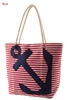 Anchor Theme Beach Bag