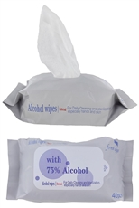 40-pc Alcohol Wipes