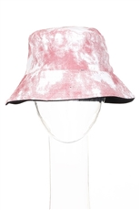 Tie Dye Print Reversible Bucket Hat