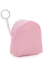 A Dozen Assorted Color Mini Bag Key Ring