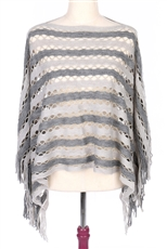 DZ Pack Assorted Color Glitter Accent Poncho