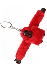 A Dozen Assorted Color Plush Gorilla Key Ring