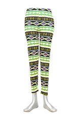 Aztec Tribal High Waist Fashion Leggings
