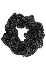 A Dozen Assorted Color Glitter Scrunchie
